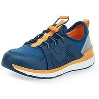 Start-rite Boys Chase Trainer - Blue, Navy, Size 3 Older