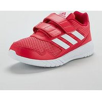 adidas AltaRun Childrens Trainers, Pink, Size 11