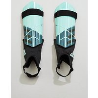 Adidas X Club Mens Shin Guards, Green, Size M, Men