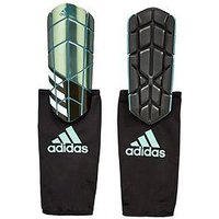 Adidas X Pro Mens Shin Guards, Green, Size L, Men