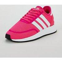 adidas Originals N-5923 Junior Trainer, Pink/White, Size 3