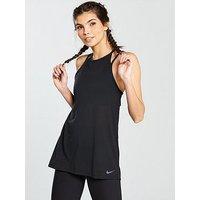 Nike Training 2-In-1 Tank Top - Black , Black, Size Xs, Women
