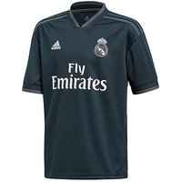 Boys, adidas Adidas Real Madrid Youth Away 18/19 Shirt, Petrol, Size 9-10 Years