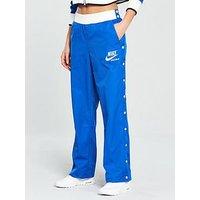 Nike Sportswear Archive Snap Pant - Blue , Blue, Size M, Women