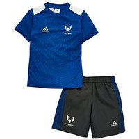 adidas Little Boys Messi Set, Blue, Size 3-4 Years