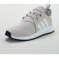 adidas Originals X_PLR Junior Trainer, Grey/White, Size 3