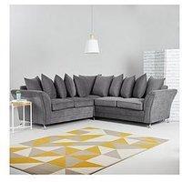 Dury Fabric Corner Group Scatter Back Sofa