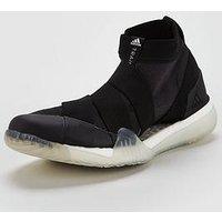 adidas PureBOOST X 3.0 - Black , Black/White, Size 7, Women