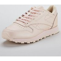 Reebok Classic Leather - Pink , Pink, Size 7, Women