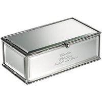 Personalised Mirror Jewellery Box, Women
