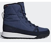 adidas Terrex Choleah Padded Boots - Navy/White , Navy/White, Size 9, Women