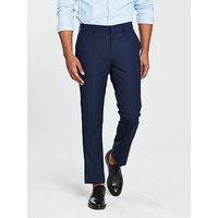 V by Very SLIM TROUSER, Blue, Size 32, Inside Leg Long, Men