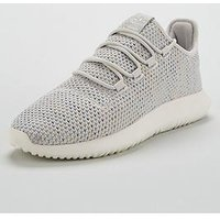 adidas Originals Tubular Shadow - Light Grey , Light Grey, Size 4, Women