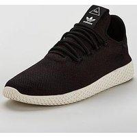 adidas Originals Pharrell Williams Tennis Hu, Black, Size 8, Men