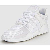 adidas Originals EQT Support ADV, White/White, Size 8, Women