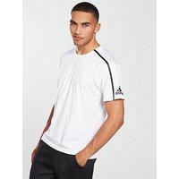 adidas ZNE T-Shirt, White, Size L, Men