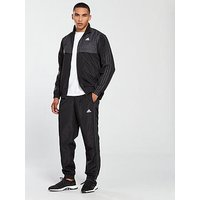 adidas Ritual Woven Tracksuit, Black, Size S, Men