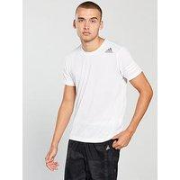 adidas Freelift T-Shirt, White, Size 2Xl, Men