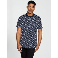 adidas Originals Monogram T-shirt, Navy, Size Xs, Men
