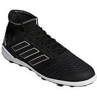 adidas Predator 18.3 Astro Turf Football Boots, Black, Size 9, Men