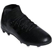 adidas Adidas Junior Nemeziz 18.3 Firm Ground Football Boot, Black, Size 3