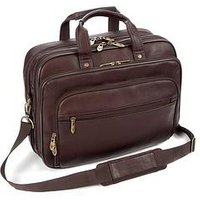 Falcon Colombian Leather 15.6-16 Inch Inch Laptop Briefcase
