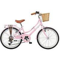 Viking Belgravia 11 Inch Frame 20 Inch Wheel 6 Speed Traditional Bike Pink