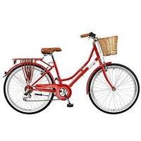 Viking Belgravia 18 Inch Frame 26 Inch Wheel 6 Speed Traditional Bike Red