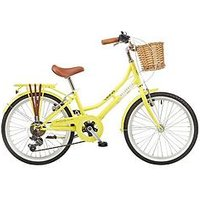 Viking Viking Belgravia 11&Quot; Frame 20&Quot; Wheel 6 Speed Traditional Bike Yellow
