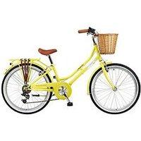 Viking Viking Belgravia 13 Inch Frame, 24 Inch Wheel, 6-Speed Traditional Bike - Yellow