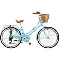 Viking Belgravia 13 Inch Frame, 24 Inch Wheel, 6 Speed Traditional Bike - Blue