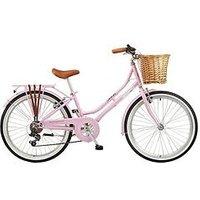Viking Belgravia 13 Inch Frame 24 Inch Wheel 6 Speed Traditional Bike Pink