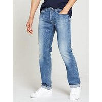 Replay Newbill Comfort Jeans, Light Wash, Size 30, Inside Leg Long, Men