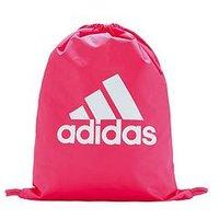 adidas Logo Gymsack - Pink, Pink