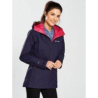 Berghaus Stormcloud Jacket - Navy, Navy, Size 14, Women