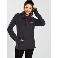 Berghaus Canvey Fleece - Black, Black, Size 12, Women