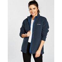 Berghaus Full Zip Prism Fleece Jacket - Navy, Navy, Size 18, Women