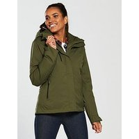 Jack Wolfskin Troposphere Waterproof Padded Jacket - Khaki, Khaki, Size Xs, Women