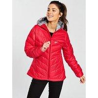 Jack Wolfskin Helium Down Jacket - Red, Red, Size Xl, Women