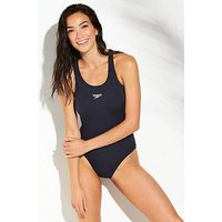 Speedo Endurance+ Medalist swimsuit, Navy, Size 40, Women