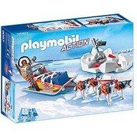 Playmobil 9057 Action Husky-Drawn Sled