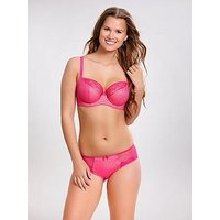 Cleo by Panache Hettie Balconette Bra - Bright Pink, Bright Pink, Size 32G, Women