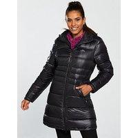 Trespass Marge Down Fill Jacket - Black , Black, Size L, Women