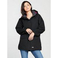 Trespass Skyrise Jacket - Black, Black, Size Xs, Women