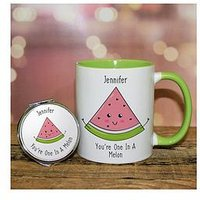 One In A Melon Mug And Mirror Set, One Colour, Women