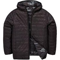 Boys, V by Very Reversible Padded Hooded Jacket - Black/Camouflage, Black/Camouflage, Size Age: 6 Years