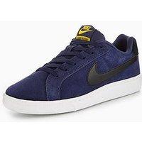 Nike Court Royale Suede, Navy/Black, Size 8, Men