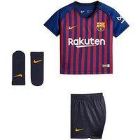 Boys, Nike Infants Barcelona 18/19 Home Kit - Blue , Blue, Size 6-9 Months