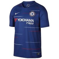 Boys, Nike Youth Chelsea Home 18/19 Short Sleeved Stadium Jersey, Blue, Size M (10-11 Years)