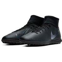 Nike Mens Phantom Vision Club Dynamic Fit Astro Turf Football Boot, Black, Size 9, Men
